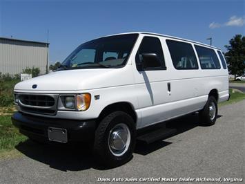 2001 Ford E-350 Super Duty Cargo XL 7.3 Diesel Extended Length 15 Passenger Van