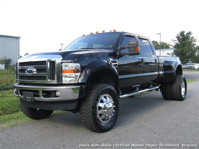 Ford F350 Towing Capacity >> 2008 Ford F-450 Super Duty Lariat Lifted Turbo Diesel 4X4 Dually Crew Cab Long Bed