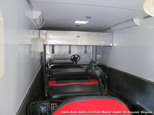 2011 Cargo Mate 48 Foot Race Car Trailer Hauler Gooseneck