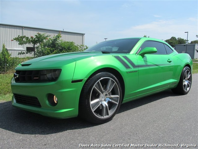 2011 chevrolet camaro ss synergy green 2ss hurst edition turbo charged. Black Bedroom Furniture Sets. Home Design Ideas