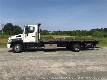 2010 Hino 258 Rollback 21 Foot Steel Bed Wheel Lift Tow - Photo 1 - Richmond, VA 23237
