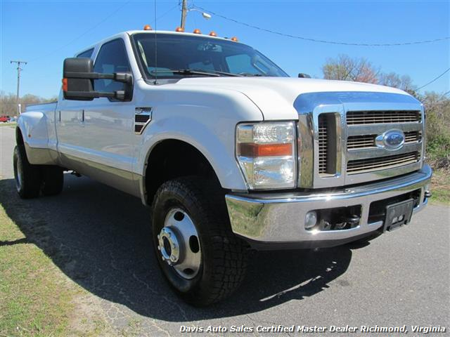 2008 Ford F 350 Super Duty Lariat King Ranch 4x4 Crew Cab Long Bed