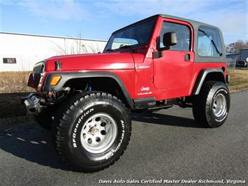 2003 Jeep Wrangler Sport 4X4 Hard Top 4.0 6 Cyl Automatic SUV