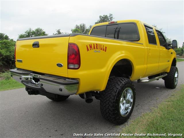2006 ford f 250 powerstroke diesel lifted amarillo lariat 4x4 crew. Black Bedroom Furniture Sets. Home Design Ideas