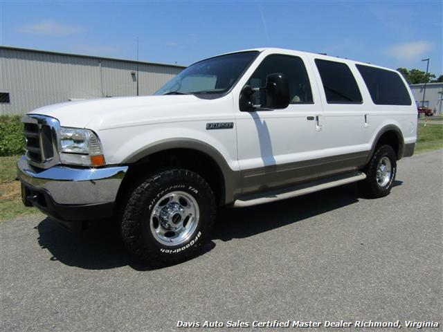2001 ford excursion limited 7 3 power stroke turbo diesel 4x4 loaded. Black Bedroom Furniture Sets. Home Design Ideas