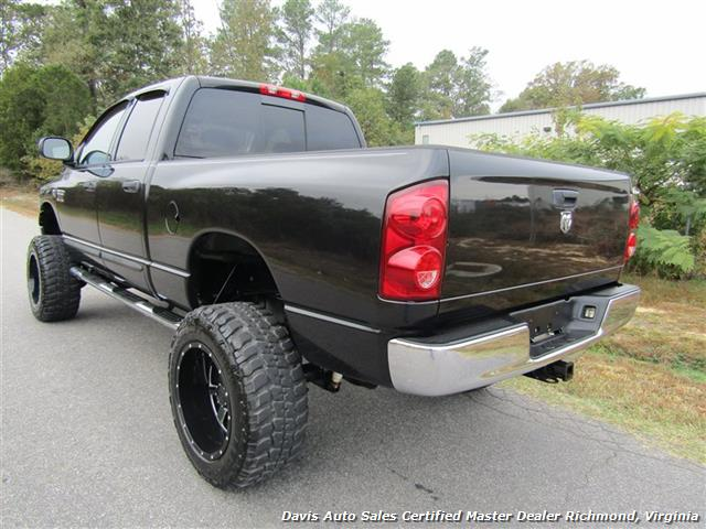 used 2007 dodge ram 2500 hd slt 5 9 cummins diesel lifted 4x4 crew cab sb for sale in richmond. Black Bedroom Furniture Sets. Home Design Ideas