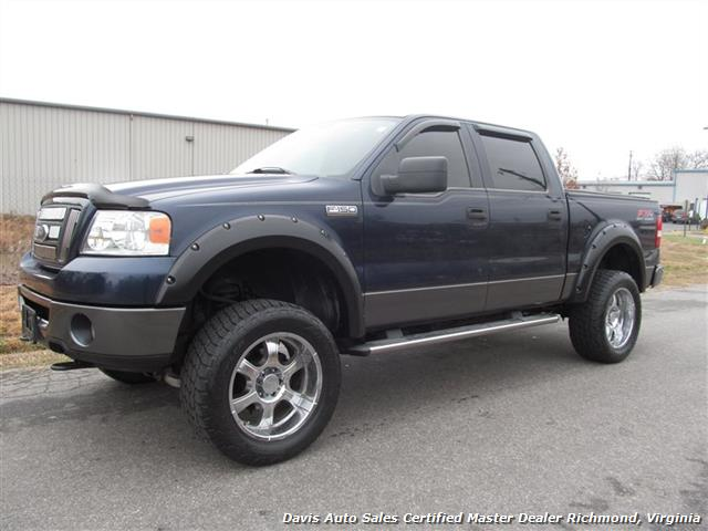 2006 ford f 150 fx4 4x4 lifted supercrew. Black Bedroom Furniture Sets. Home Design Ideas