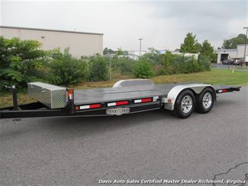 2016 TRAX Power Tilt Hydraulic Push Botton Flat Bed Trailer