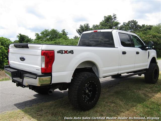 2017 ford f 250 super duty xlt lifted 4x4 crew cab long bed. Black Bedroom Furniture Sets. Home Design Ideas