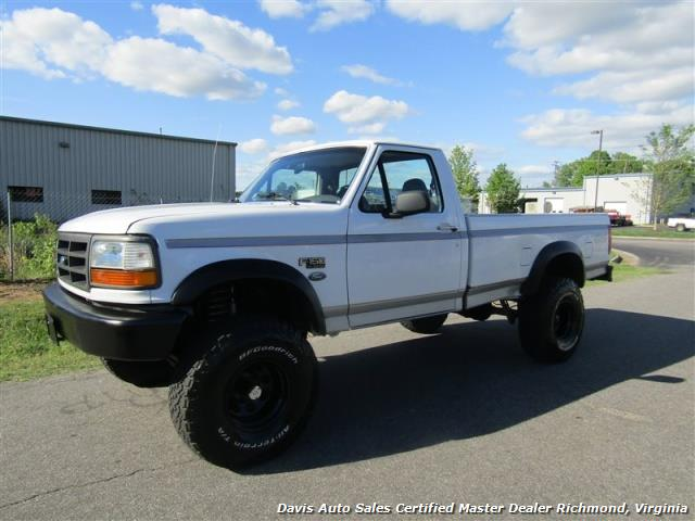 1996 ford f 150 xl obs classic lifted 4x4 low mileage regular cab. Black Bedroom Furniture Sets. Home Design Ideas