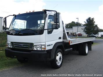 2006 Ford LCF Regular Cab Over Cab Turbo Diesel Wrecker Rollback Flat Bed Commerical Truck
