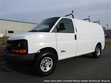 2006 Chevrolet Express 3500 6.6 Duramax Turbo Diesel 1 Ton Cargo Work Van