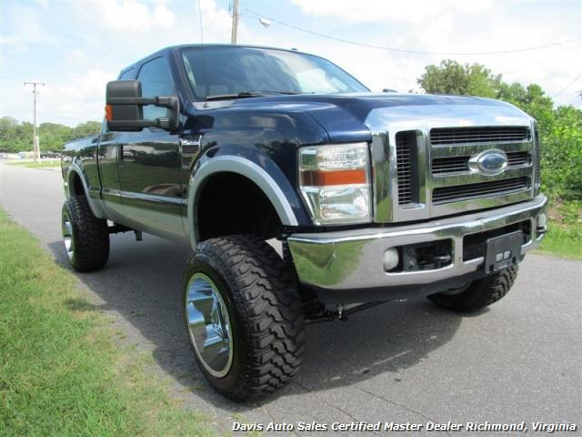 2008 ford f 250 powerstroke diesel lifted super duty lariat 4x4. Black Bedroom Furniture Sets. Home Design Ideas