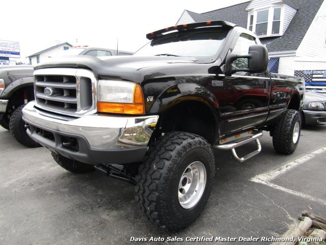 1999 ford f 250 super duty xlt lifted 4x4 regular cab long. Black Bedroom Furniture Sets. Home Design Ideas