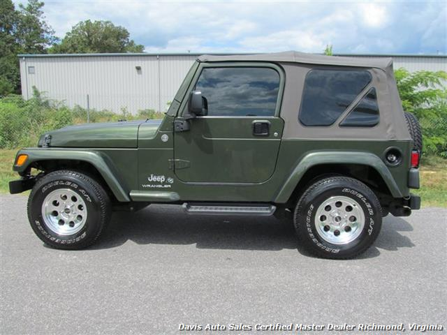 2006 jeep wrangler x 4x4 off road soft top 2dr suv. Black Bedroom Furniture Sets. Home Design Ideas