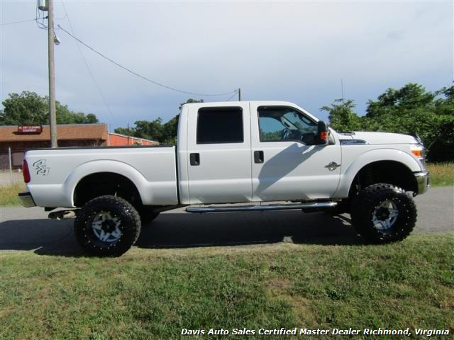 2012 ford f 250 powerstroke diesel lifted xlt 4x4 crew cab. Black Bedroom Furniture Sets. Home Design Ideas