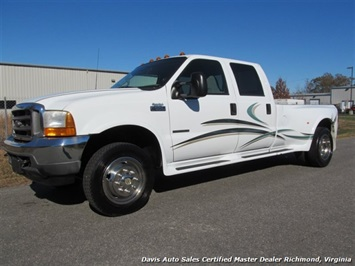 2001 Ford F-550 Super Duty Lariat Crew Cab Long Bed Truck