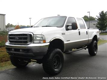2004 Ford F-250 Super Duty Lariat Diesel Lifted 4X4 Crew Cab SB Truck