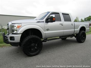 2015 Ford F-250 Super Duty Platinum Diesel 6.7 Lifted 4X4 Crew Cab Truck