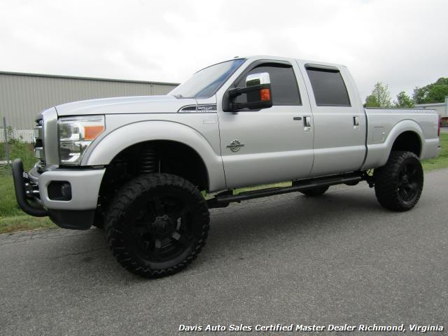 2015 Ford F 250 Super Duty Platinum Diesel 6 7 Lifted 4x4