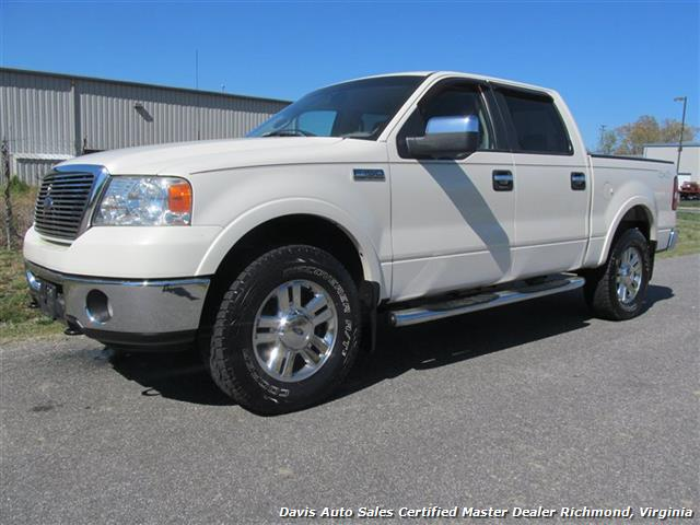 2008 ford f 150 lariat 4x4 supercrew short bed. Black Bedroom Furniture Sets. Home Design Ideas