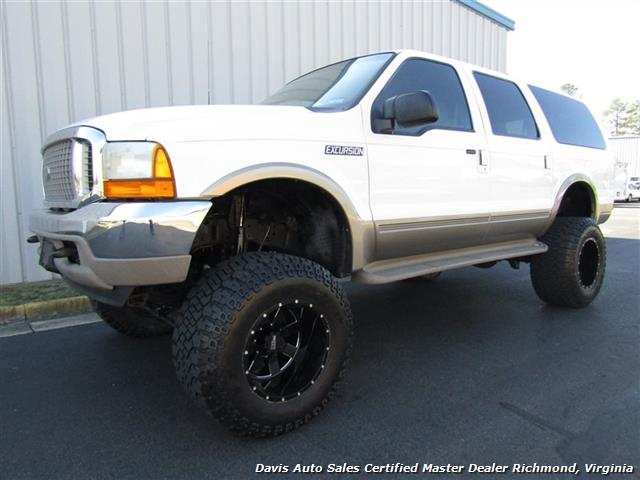 2000 ford excursion limited lifted 4x4 7 3 power stroke turbo diesel. Black Bedroom Furniture Sets. Home Design Ideas