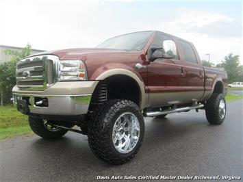 2007 Ford F-250 Diesel Lifted King Ranch 4X4 Super Duty Crew Cab Truck