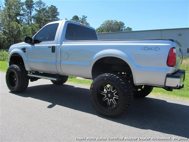 2008 ford f 250 super duty lifted xlt 4x4 regular cab long bed. Black Bedroom Furniture Sets. Home Design Ideas