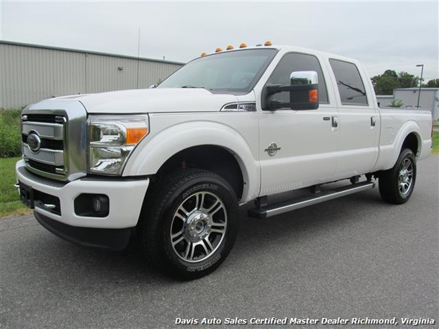2013 ford f 350 super duty platinum lariat 4x4 crew cab. Black Bedroom Furniture Sets. Home Design Ideas