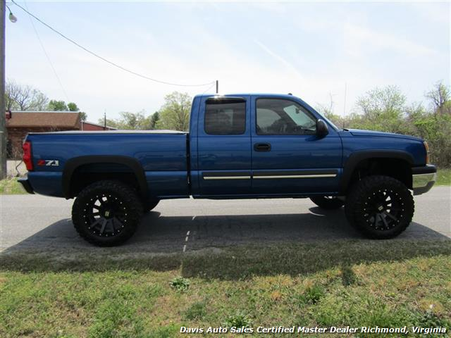 2004 chevrolet silverado 1500 ls z71 lifted 4x4 extended. Black Bedroom Furniture Sets. Home Design Ideas