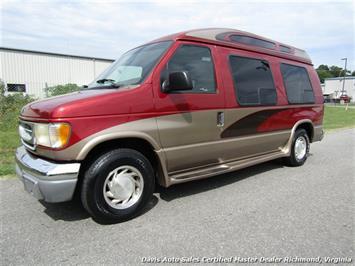1999 Ford E-150 Econoline High Top Conversion Handicap Wheel Chair Lift Van