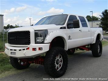 2012 Ford F-250 Super Duty Lariat 6.7 Turbo Diesel Lifted 4X4 Crew Cab Short Bed Truck