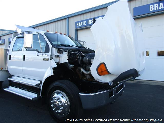 2007 Ford F-650 Super Duty XLT Caterpillar Turbo Diesel Custom Hauler Super - Photo 35 - Richmond, VA 23237