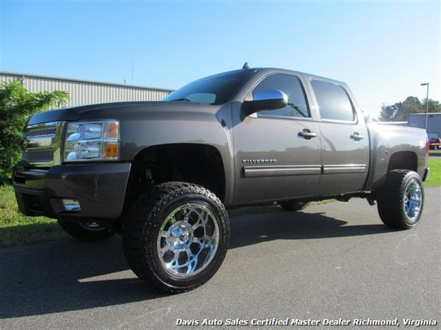 2011 chevrolet silverado 1500 lifted ltz z71 4x4 off road crew cab short bed. Black Bedroom Furniture Sets. Home Design Ideas