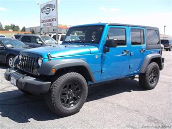 2015 Jeep Wrangler Unlimited Sport S SUV