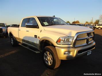 2014 Ram 3500 Laramie Longhorn Crew Cab 4x4 Truck