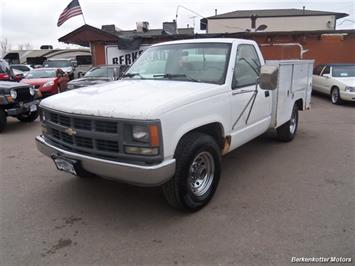 1994 Chevrolet Regular Cab Utility Box Truck