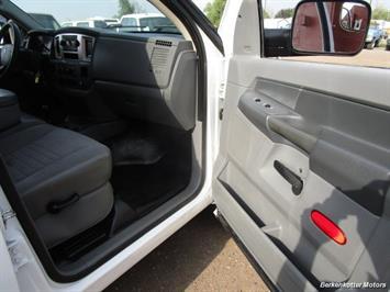 2008 Dodge Ram Chassis 3500 SLT Quad Cab 4x4 Utility Box - Photo 34 - Brighton, CO 80603
