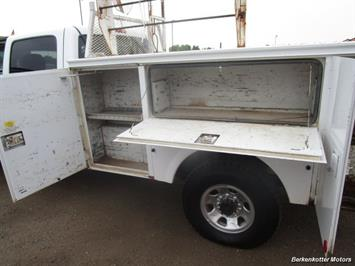 2007 Chevrolet Silverado 3500 Classic LS Crew Cab Utility Box 4x4 - Photo 32 - Castle Rock, CO 80104