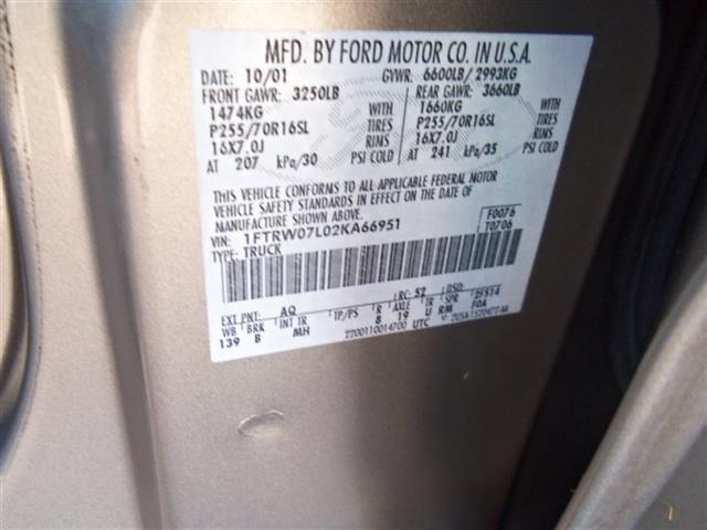2002 Ford F-150 XLT Super Crew - Photo 24 - Fountain, CO 80817
