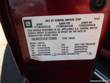 2004 Chevrolet Silverado 2500 LS Crew Cab 4x4 - Photo 46 - Brighton, CO 80603