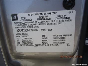 2004 Chevrolet Silverado 2500 LS Extended Cab - Photo 51 - Brighton, CO 80603