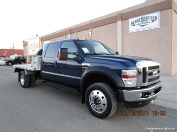2008 Ford F-450 Crew Cab Flatbed Truck