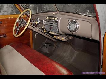 1947 Pontiac Streamliner Deluxe 8 Woody Station Wagon - Photo 34 - Kingston, PA 18704