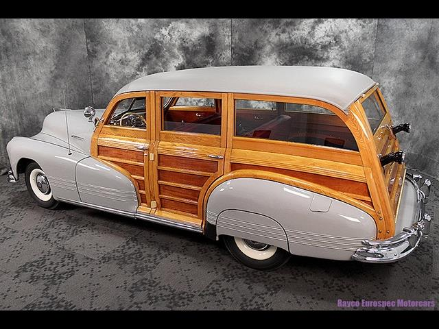 1947 Pontiac Streamliner Deluxe 8 Woody Station Wagon - Photo 3 - Kingston, PA 18704