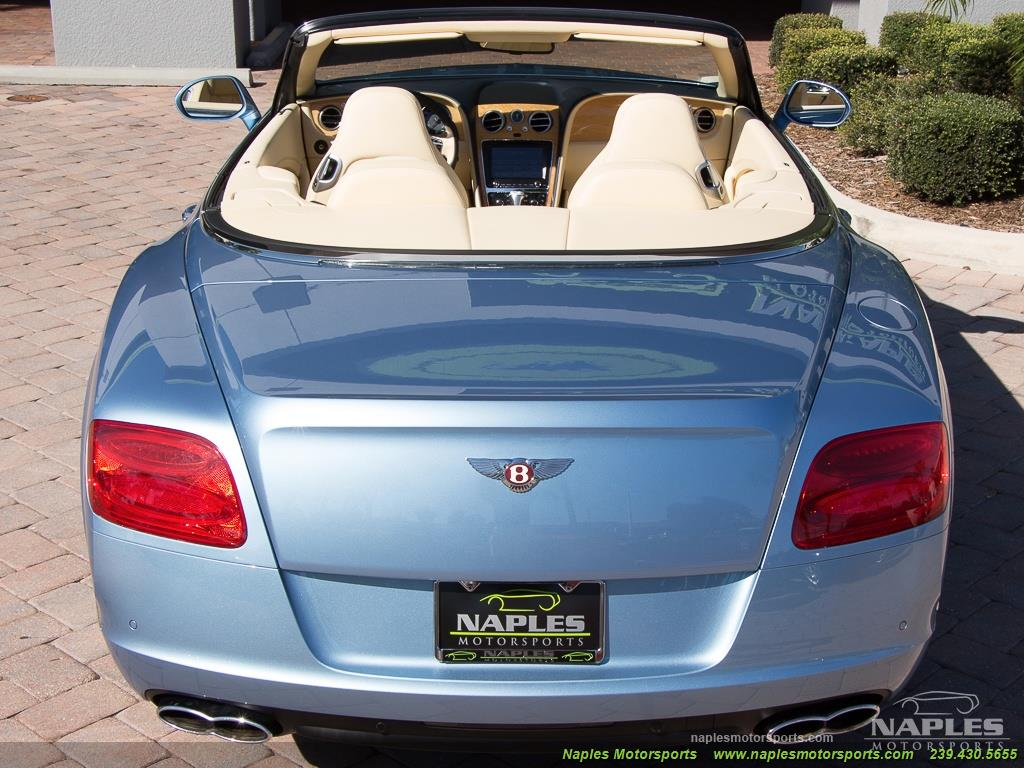 2013 Bentley Continental GT GTC - Photo 15 - Naples, FL 34104