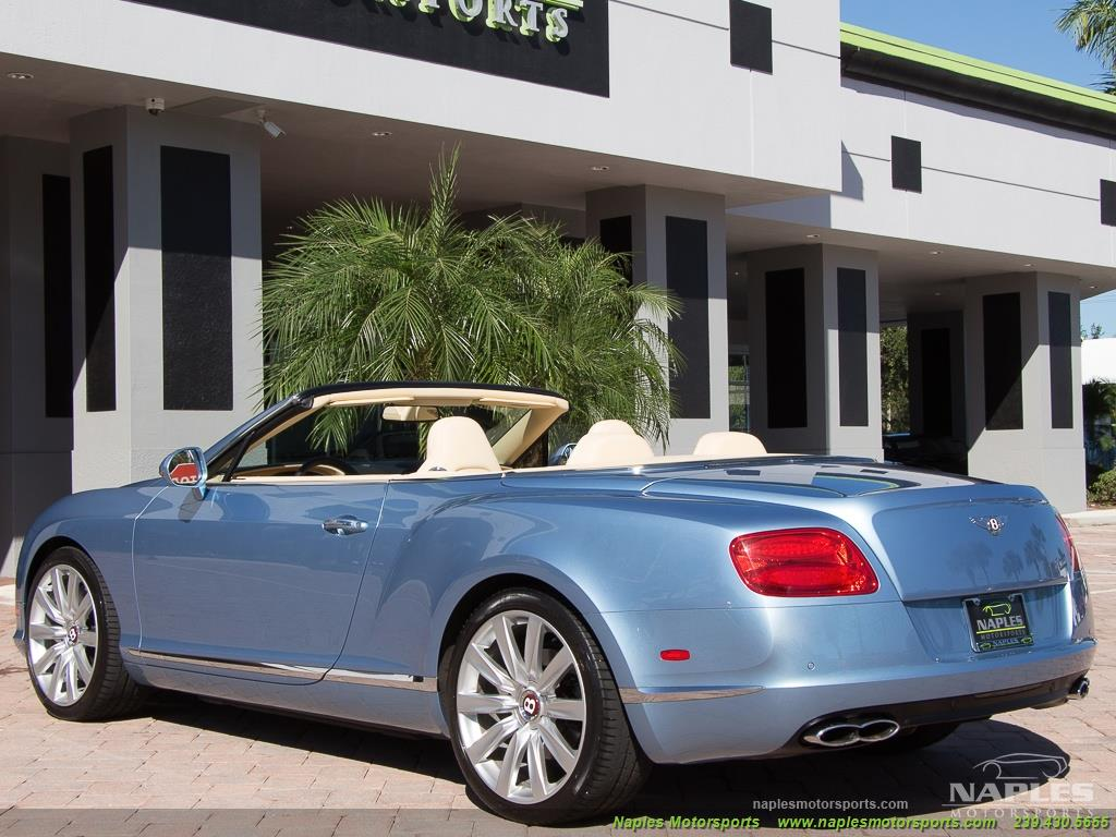 2013 Bentley Continental GT GTC - Photo 45 - Naples, FL 34104