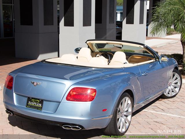 2013 Bentley Continental GT GTC - Photo 4 - Naples, FL 34104
