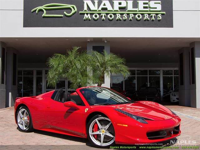 2014 Ferrari 458 Spider - Photo 1 - Naples, FL 34104