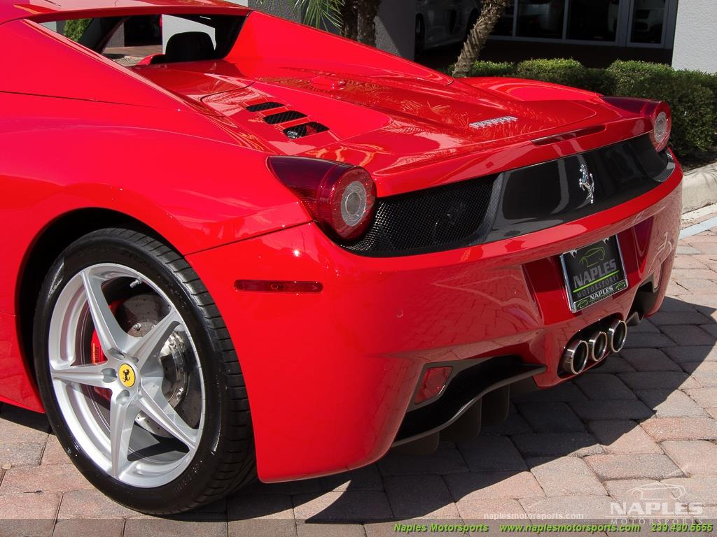 2014 Ferrari 458 Spider - Photo 9 - Naples, FL 34104